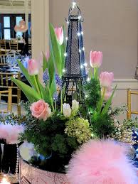 april in paris centerpieces for a spring party centerpieces