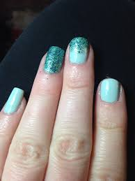 just learned how to make glitter polishes more glittery by using a