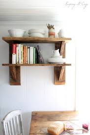diy kitchen shelves 40 brilliant diy shelves that will beautify your home page 2 of
