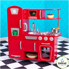 Red Kitchen Set - ideas cute kidkraft retro kitchen for best kids kitchen idea
