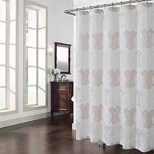 Ivory Shower Curtain Chantal Shower Curtain In Ivory Bed Bath U0026 Beyond