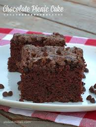 chocolate picnic cake alida u0027s kitchen