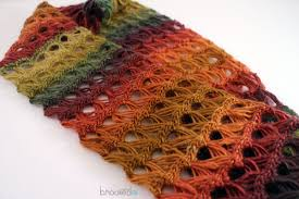 broomstick knitting broomstick lace infinity scarf b hooked crochet