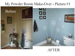 Powder Room Makeover A Day In The Life Of A Brown Eyed My Powder Room Makeover