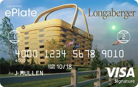 longberger longaberger rewardscard png