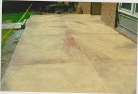 Stain Concrete Patio by Concrete Patios Greenville Sc Unique Concrete Design Llp