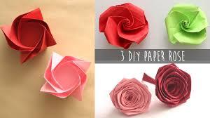 paper roses 3 easy diy paper