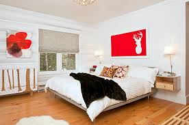 white walls in bedroom wall decors fabulous white bedroom with red accent at wall and