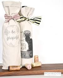 wine gift bag diy wine gift bags boxwood avenue