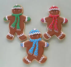 Christmas Gingerbread Cookies Decorating Ideas