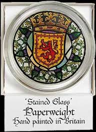 paperweight in scottish and thistle design to buy from