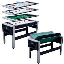 4 in one game table lancaster 54 4 in 1 pool bowling hockey table tennis combo arcade