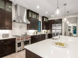 HighEnd Contemporary Kitchen Designs With Natural Wood - Kitchen photos dark cabinets