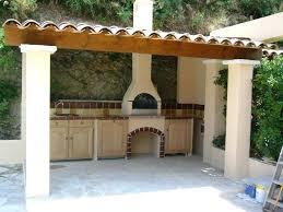 modele de cuisine d été cuisine ete exterieur abri cuisine exterieure superbe construction d