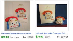 the most expensive valuable hallmark keepsake ornaments