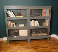 Bookcase With Doors Lawyer Bookcase Threshold Carson 5 Shelf Bookcase With Doors