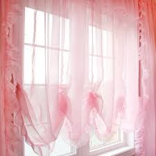 Shabby Chic Balloon Curtains by Balloon Shade