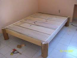 Homemade Wooden Beds Nail Less Glue Less Almost Less Fire Finished Bed