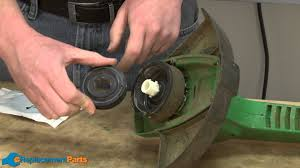 how to replace the spool on a weed eater xt10 string trimmer part