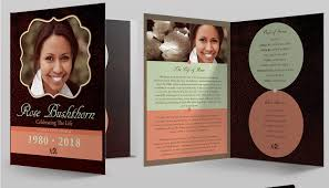 modern funeral programs pin by rachael davis on st a s booklet template