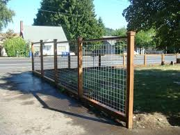 hog wire fence panels plans fence ideas best hog wire fence