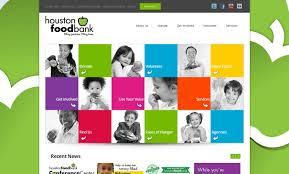 houston food bank web design driving web and mobile innovation