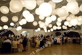 paper lanterns with lights for weddings perfectmaze 12 piece set 12 inch white round chinese paper lantern