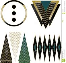 Art Deco Design Elements Art Deco Logos And Design Elements Stock Photo Image 35510160