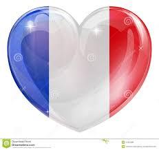 Frenxh Flag French Flag Heart Illustration 37084389 Megapixl