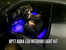 Interior Car Led Light Kits How To Install Interior Led Lights Opt7 Aura Kit Dodge Challenger