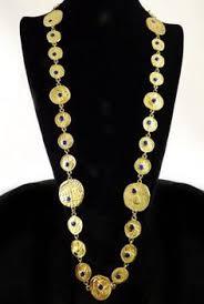 pauline rader necklace large and impressive vintage pauline rader white enamel and