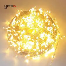 warm white string fairy lights white warm white 30m 50m 100m led string fairy lights outdoor
