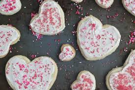 heart shaped cookies heart shaped frosted shortbread cookies bake your day