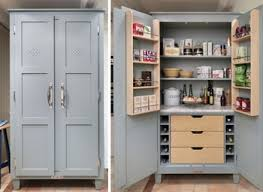 Kitchen Freestanding Pantry Cabinets Pantry Cabinet Country Kitchen Livingurbanscape Org