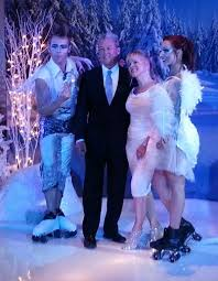 frozen themed party entertainment winter themed and frozen theme decorations and production services