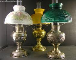 a selection of table antique oil lamps kerosene lamps projects