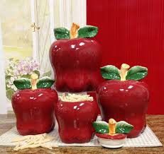 apple kitchen canisters tuscan kitchen canisters decors ideas