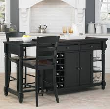Kitchen Island With Bar Stools by Kitchen Remarkable Wooden Kitchen Island With Stools On Four