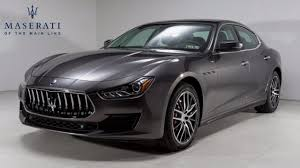 used maserati ghibli 2018 maserati ghibli for sale near west chester pennsylvania