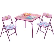 3 piece table and chair set nickelodeon paw patrol skye child 3 piece table and chairs