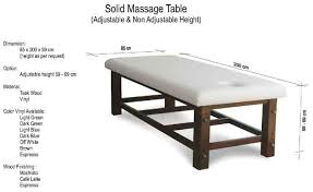 solid massage table shopping in bali