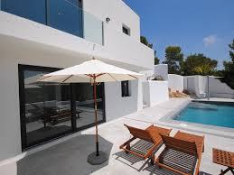 casa anicla cala tarida modern villa with private pool and sea