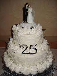 wedding cake anniversary wedding cakes amazing 25th anniversary wedding cakes for the