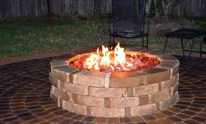 Hampton Bay Outdoor Fireplace - kitchen stylish awesome wood fire pits menards outdoor fireplace