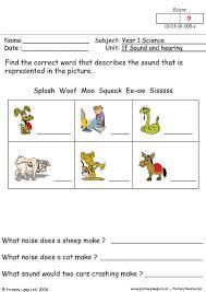 primaryleap co uk identifying sounds worksheet