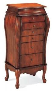 Wooden Jewelry Armoire Cherry Wood Jewelry Armoire Foter
