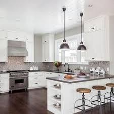 White Cabinet Kitchen Design Walls Are Sherwin Williams Sw 7015 Repose Gray White Cabinet