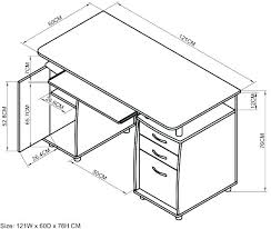 Office Desk Height Standard Average Computer Desk Height Typical Standard For Office Desks