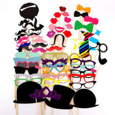 photo booth props diy 58 pcs photo booth props diy kit picture accessories for birthday