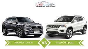 hyundai jeep 2017 jeep compass vs hyundai tucson specs comparison